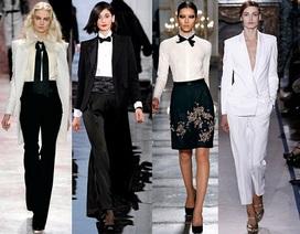 Vẻ đẹp nữ quyền trong thiết kế tuxedo dành cho nữ