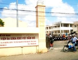 Vụ trẻ sơ sinh tử vong ở BV Đầm Dơi: Do bị ngạt sau mổ