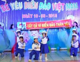 """Rộn ràng hội thi """"Bé yêu biển đảo Việt Nam"""""""