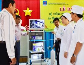 Trao tặng thiết bị y tế cho BVĐK tỉnh Sóc Trăng