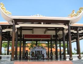 Đền thờ Bác Hồ - nơi tưởng nhớ vị cha già dân tộc