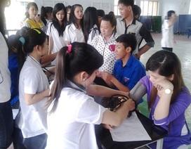 Thu hơn 400 đơn vị máu dịp kỷ niệm ngày sinh Bác Hồ
