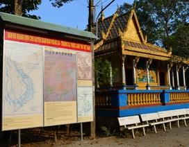Trưng bày bản đồ khẳng định chủ quyền Hoàng Sa, Trường Sa của Việt Nam