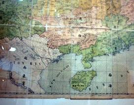 Trưng bày bản đồ cổ Trung Quốc không có Hoàng Sa, Trường Sa