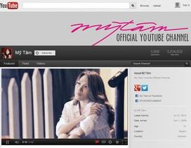 Mỹ Tâm trở thành đối tác của YouTube