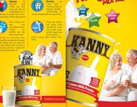 Thêm một loại sữa bột xuất hiện trên thị trường