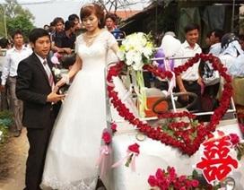 Những lễ rước dâu độc đáo ở Việt Nam 2012