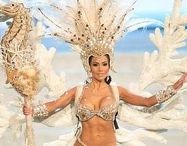 """Quốc phục gây """"choáng váng"""" tại Hoa hậu Hoàn vũ 2012"""