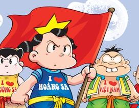 Chuyện về Trường Sa được kể hào hùng trên truyện tranh
