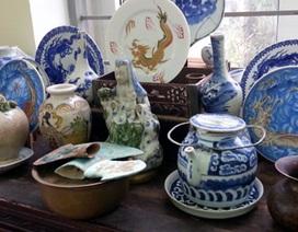 Trưng bày cổ vật quý nhân ngày Di sản Văn hóa Việt Nam