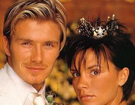 Đấu giá vương miện vàng trong lễ cưới của cô dâu Victoria Beckham