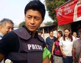 Phóng viên Nhật Bản đẹp trai khiến người biểu tình Bangkok tan chảy