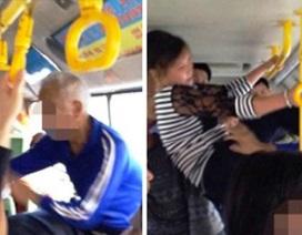 Phụ nữ trẻ đá thẳng vào mặt cụ ông vì… phải nhường ghế xe buýt