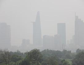 """Màn mù khô trắng đục phủ khắp Sài Gòn, nghi từ Indonesia """"tràn"""" sang"""