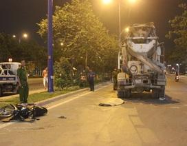 Xe bồn chở bê tông cán chết người trên đại lộ Mai Chí Thọ