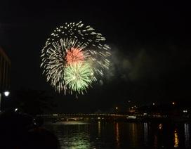 TPHCM bắn pháo hoa tại 4 điểm mừng ngày lễ 30/4