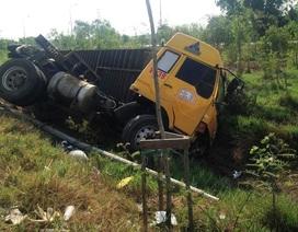 Xe container liên tục gây tai nạn ở vùng ven TPHCM