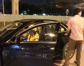 Nhiều ô tô bị tạm giữ sau chiến thắng của tuyển bóng đá Việt Nam