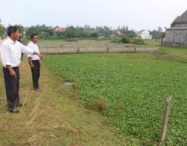 Vụ tiền mất đất chẳng giao ở xã Cương Gián: Do có sự xáo trộn, luân chuyển cán bộ