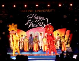 Sinh viên Việt – Lào nô nức chào đón năm mới