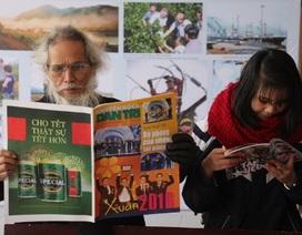 Hơn 200 đầu báo tham gia Hội Báo xuân 2016