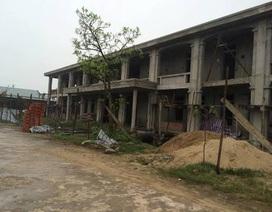 Nhà trường khốn khổ vì nhà thầu chây ì