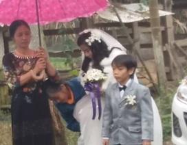 Đám cưới đặc biệt của cô dâu xinh đẹp và chú rể cao 1m
