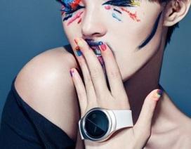 Ảnh Samsung smartwatch màn hình tròn, ra mắt vào tháng 9