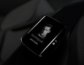 Độc đáo ý tưởng thiết kế smartwatch Galaxy Gear Edge màn hình cong