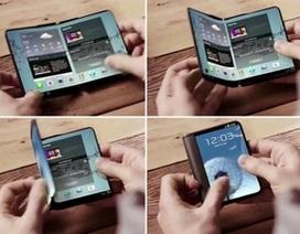 Samsung sẽ ra mắt smartphone có thể gập đôi màn hình vào tháng 1/2016?