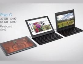 """Google trình làng máy tính bảng """"lai"""" với màn hình siêu nét"""