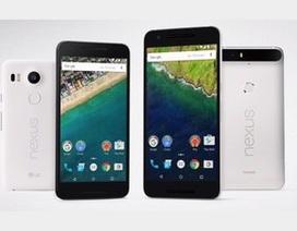 Cận cảnh bộ đôi smartphone Nexus và máy tính bảng mới của Google