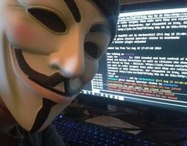 Hacker Việt Nam đứng sau vụ tấn công nhằm vào máy chủ của Anonymous?