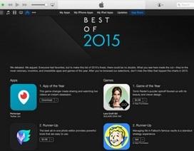 Apple công bố những ứng dụng tốt nhất 2015 cho iPhone, iPad, Apple Watch và Mac
