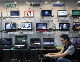 Doanh số máy tính tiếp tục giảm mạnh trong năm 2015