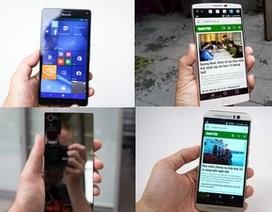 10 smartphone có thiết kế đẹp nhất năm 2015