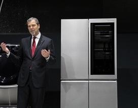 LG trình làng TV độ phân giải 8K, tủ lạnh thông minh... tại CES 2016