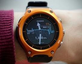 """Casio trình làng smartwatch đầu tiên với khả năng """"nồi đồng cối đá"""""""