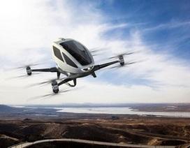 Máy bay chở khách không người lái đầu tiên ra mắt tại CES 2016