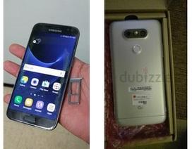 Ảnh thực tế Galaxy S7/S7 Edge và G5 đồng loạt bị lộ trước giờ ra mắt
