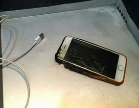Hoảng loạn vì iPhone 6 bất ngờ bốc cháy trên chuyến bay