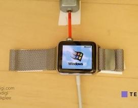 Xem Windows 95 hoạt động trên đồng hồ thông minh Apple Watch