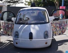 Cận cảnh nguyên mẫu xe tự lái đầu tiên của Google