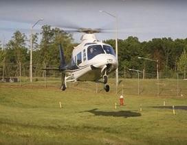 Nhổ răng bằng... máy bay trực thăng