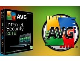 Bản quyền một năm phí gói bảo mật danh tiếng AVG Internet Security 2016