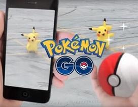 """Tựa game """"hot"""" bắt Pokemon trong thế giới thực chính thức ra mắt"""