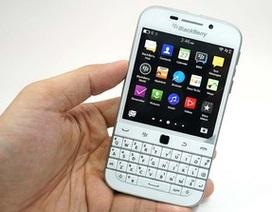 BlackBerry chính thức khai tử smartphone có thiết kế cổ điển Classic
