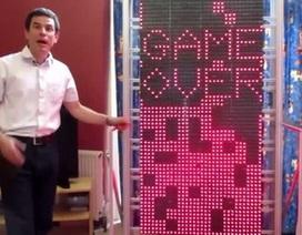 """Chi 53.000USD xây dựng """"siêu máy tính"""" chỉ để... chơi game xếp hình"""