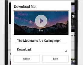 Trình duyệt Opera Mini trên Android thêm tính năng tải video khi duyệt web