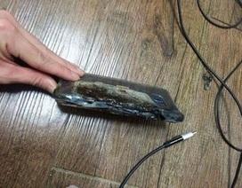 Xôn xao thông tin Galaxy Note7 phát nổ trong lúc đang cắm sạc